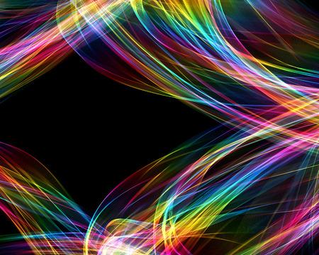 De Magische Vorm Van Veelkleurige Rook Abstracte Violet-rood ...