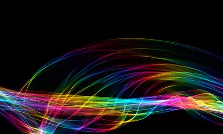 De rook van de regenboog stock afbeelding. Afbeelding bestaande ...