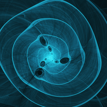 aqua background: aqua blue abstract marine spiral fractal background