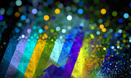 color spectrum: Color spectrum bokeh blurry background. Rainbow background. Fractal art pattern for wallpaper, interior, album, flyer cover, poster, booklet