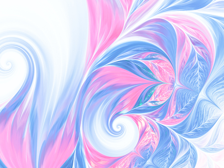 abstract wave psychedelic background. Abstract Fractal art pattern for wallpaper, cards, flyer cover, poster, booklet