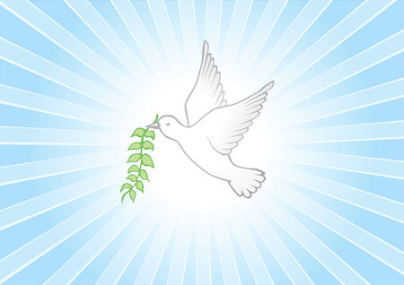 free vector art: Peace background