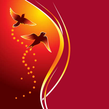 Firebirds Vector