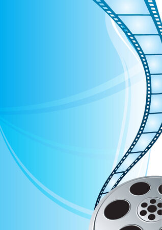 films: Film strip Illustration