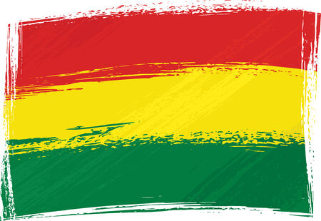 Grunge Bolivia flag Stock Vector - 3103507