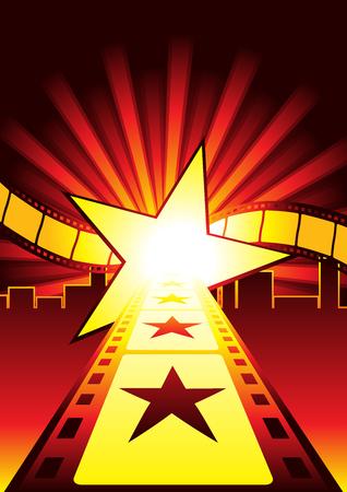 celebrities: Weg naar de sterren