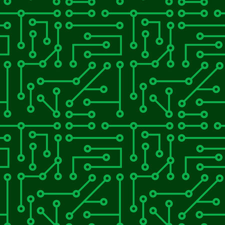 Electronic seamless texture Stock Vector - 3937069