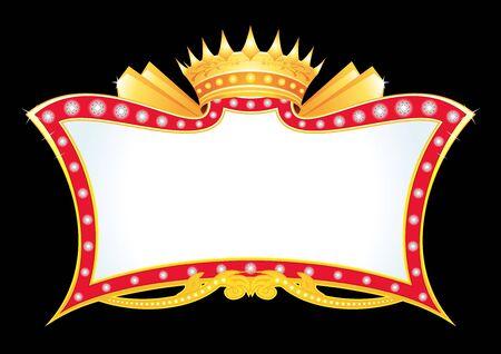 Royal announcement  Vector