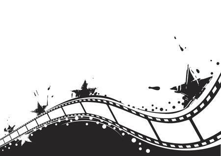 Film achtergrond  Stock Illustratie