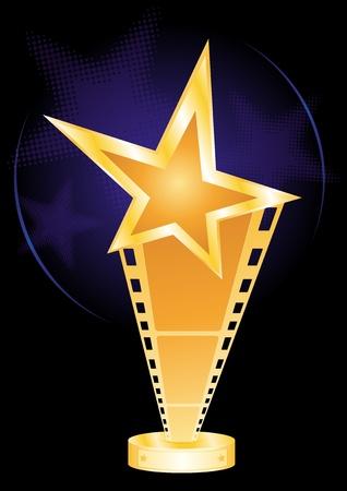 Movie award  Stock Vector - 8476501