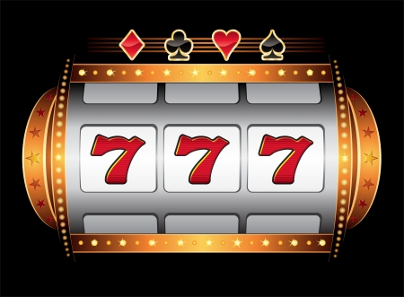 bandidas: M�quina de Casino  Vectores