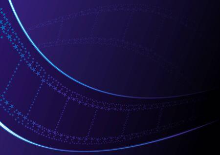 Fond d'écran de film bleu