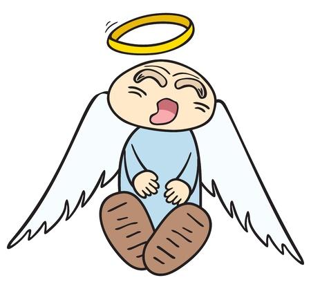 Sleeping angel Stock Vector - 10057958