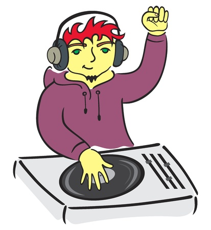 2,930 Disc Jockey Stock Illustrations, Cliparts And Royalty Free ...
