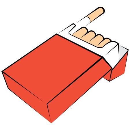 empacar: Los cigarrillos del paquete