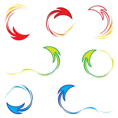 Set of arrows Stock Vector - 12199148