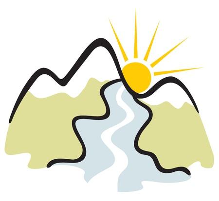 Mountain symbool