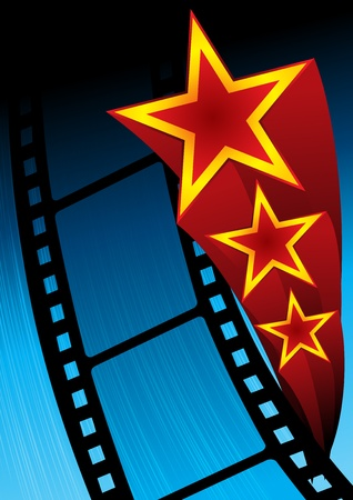 premiere: Movie poster Illustration