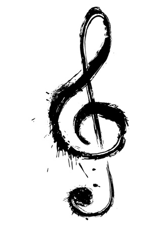 musical note: Music symbol Illustration
