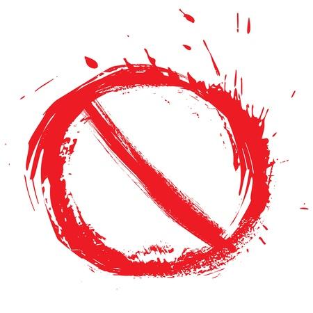 prohibido: S�mbolo restringido