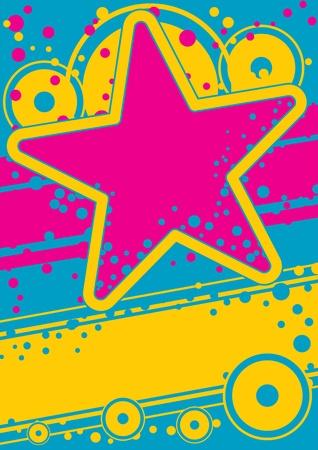 Retro poster Stock Vector - 13186028