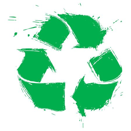 Recycling symbol Stock Vector - 13186030