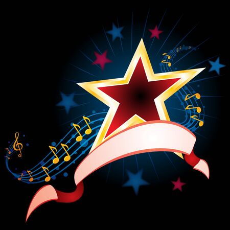 Music background Stock Vector - 14407558