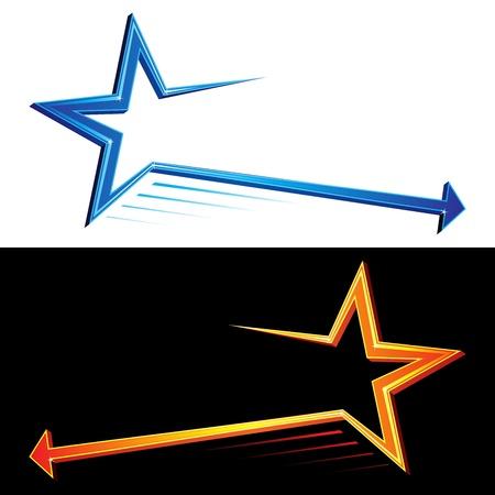 Star symbols Illustration