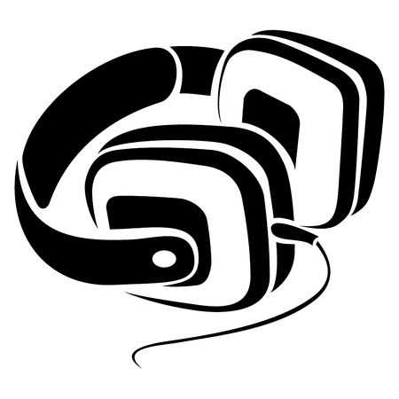 Headphones symbol