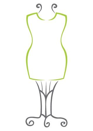dressmaker: Dummy symbol Illustration