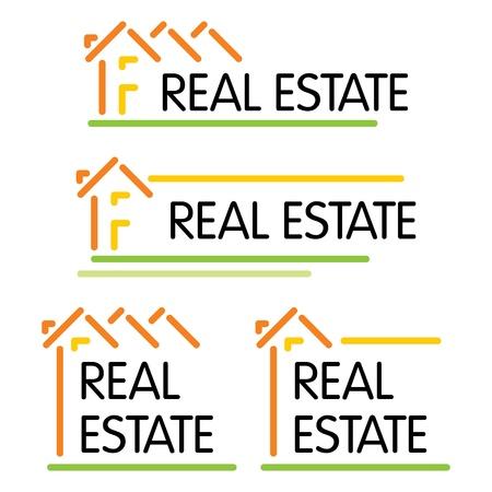 housing estates: Casa simbolo