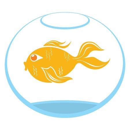 Goldfish symbol Stock Vector - 14650153