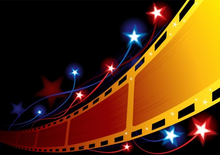 strip show: Cinema background