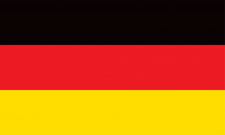 Vector Federal Republic of Germany flag Illustration