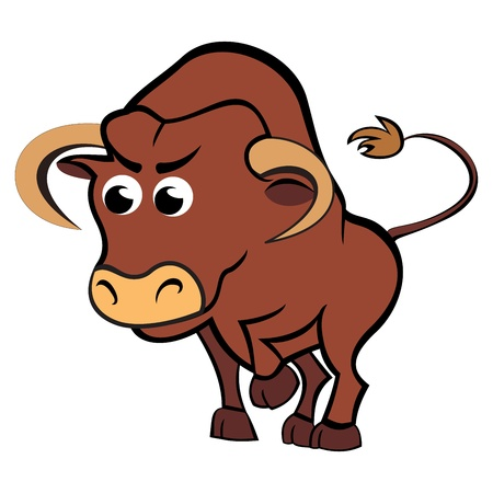 Child taurus Stock Vector - 15420411