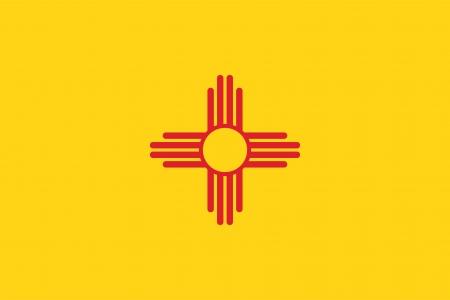 mexico flag: New Mexico flag