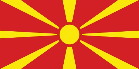 macedonia: Macedonia flag
