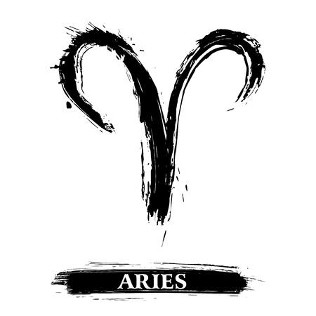 astrologie: Widder-Symbol