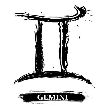 Gemini symbol Stock Vector - 16550312
