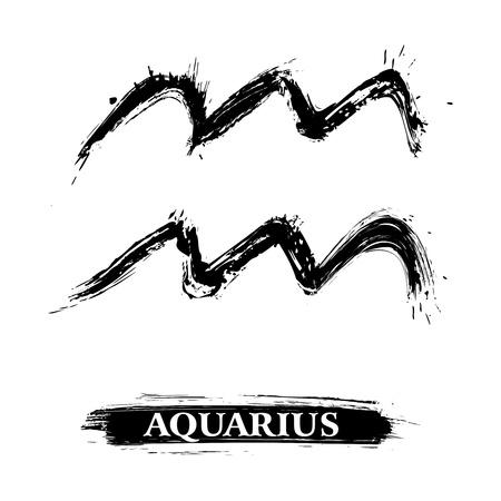 aquarius: Aquarius symbol