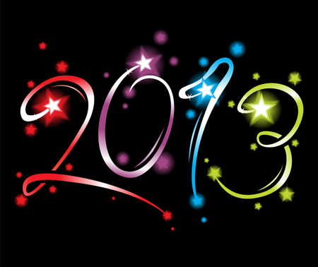 New Year 2013 Vector