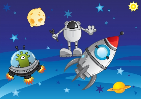 Adventure in cosmos