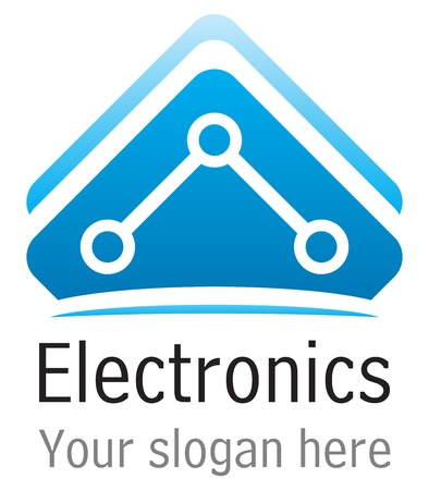 electronic elements: Elettronica icona
