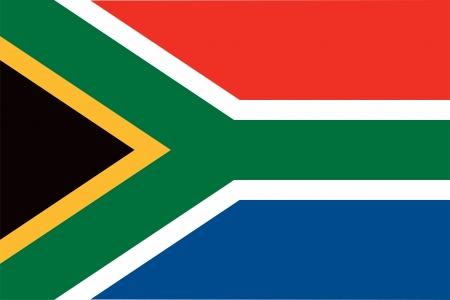 bandera: Sudáfrica bandera Vectores