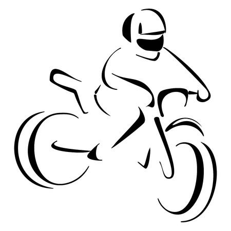 Motocross sport Stock Vector - 18976790
