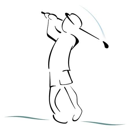 Golf symbol Stock Vector - 18976821
