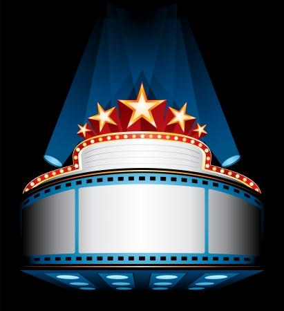 movie sign: Estreno de la pel�cula
