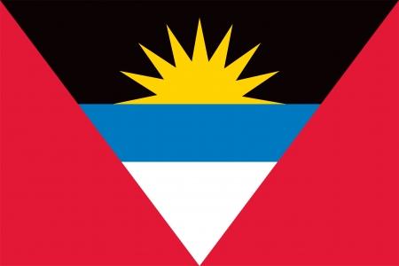 barbuda: Antigua and Barbuda flag