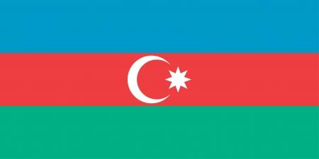 azerbaijan: Azerbaijan flag