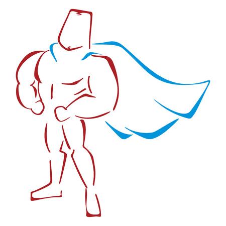 defender: Defender in costume Illustration